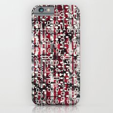 Linear Thinking Trip-Switch (P/D3 Glitch Collage Studies) Slim Case iPhone 6s