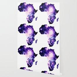 Violet Purple Galaxy Africa Wallpaper