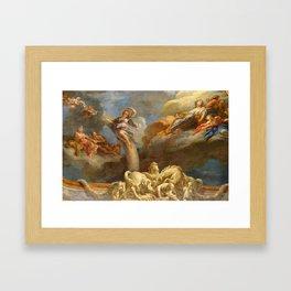 Vaulted Ceilings Of Versailles Framed Art Print