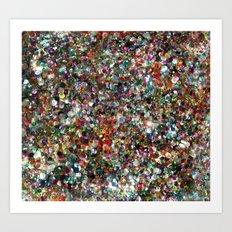 Sequin Spill Art Print