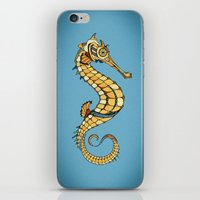 seahorse iPhone & iPod Skins featuring Seahorse by Andreas Preis