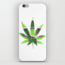 Cannabis Rainbow Design (96) iPhone Skin