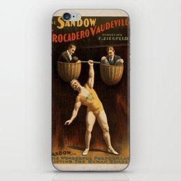 Vintage poster - Vaudeville iPhone Skin