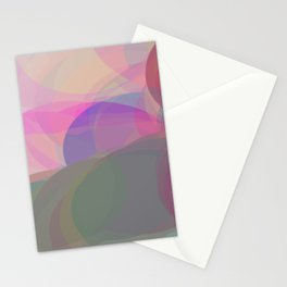 over the rainbow Stationery Cards