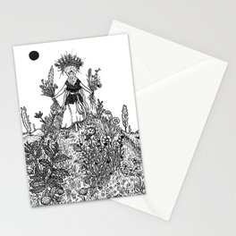 Flower Priestess Stationery Cards
