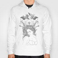 dreams Hoodies featuring Dreams by Nathalie Otter