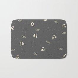 Libra Pattern Bath Mat