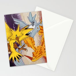 Clash of the Trio Stationery Cards