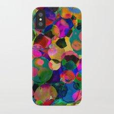 Rainbow Spot Slim Case iPhone X