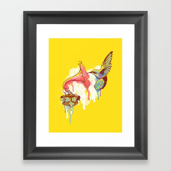 Sweet Music Framed Art Print