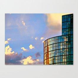 Minimalist Skyline Canvas Print