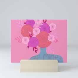 Flowers for you too Mini Art Print