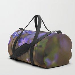 Blue liverworts Duffle Bag