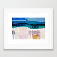 cityscape Framed Art Prints featuring CITYSCAPE by Catspaws