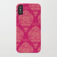damask iPhone & iPod Cases featuring Damask by cactus studio