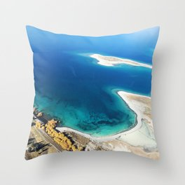 New Zealand's beauty *Tekapo Lake Throw Pillow