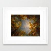 baroque Framed Art Prints featuring Baroque by Tori Beretta