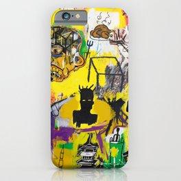 Collage Basquiat iPhone Case