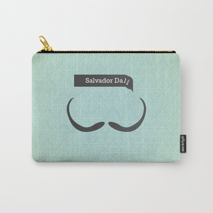 Salvador Dali (Famous mustaches and beards) Carry-All Pouch