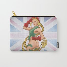 Cammy, the sexy British Street Fighter Carry-All Pouch