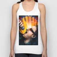 u2 Tank Tops featuring Bono from U2 by Storm Media
