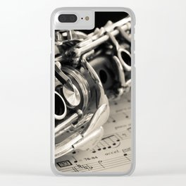 Clarinet Clear iPhone Case