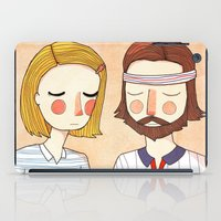 hipster iPad Cases featuring Secretly In Love by Nan Lawson