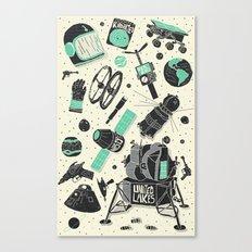 Space Funk Canvas Print