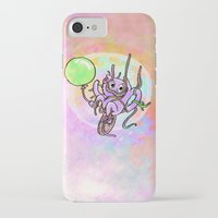 beaver iPhone & iPod Cases featuring Streamer Beaver by melaphantastic