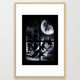 Playtime's Over Framed Art Print