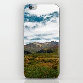 Colored Peaks iPhone Skin