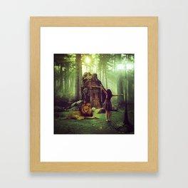 GUIDING LIGHT Framed Art Print