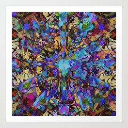 Purple Insanity Art Print