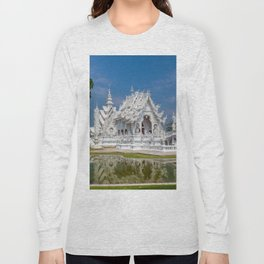 White Temple Thailand Long Sleeve T-shirt