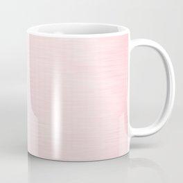 Alice Pink Streaky Hand Painted Watercolor Coffee Mug