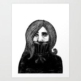 Inktober 2018 - 3 Art Print