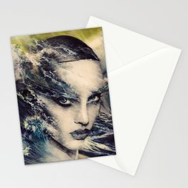 THE STORY OF A LACING WAVE Stationery Cards