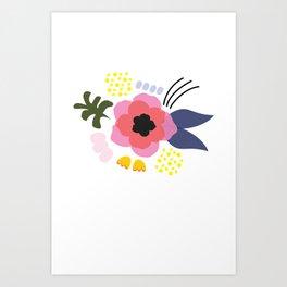 Blomma No.2 Art Print