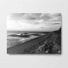 Cool Day in Cape Cod Metal Print