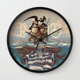 ISLAND-JONAH Wall Clock
