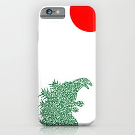 Japanese Monster iPhone Case