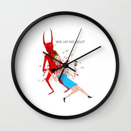Your Last Post Wall Clock