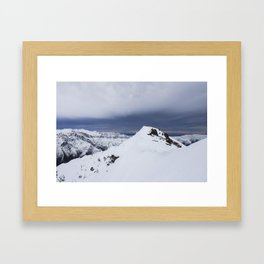 San Gabriel's Summit Framed Art Print