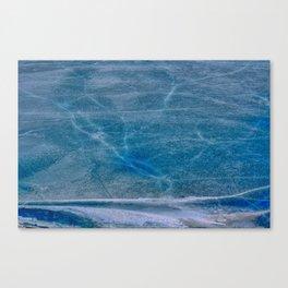 Ice Veins Canvas Print