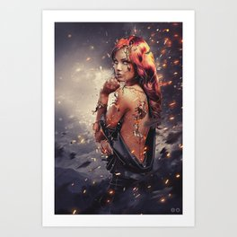 Endure Art Print