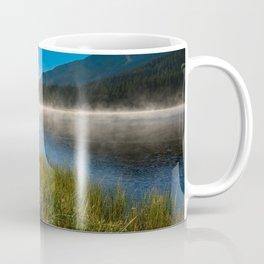 Morning Glory - Duck Swimming in Mountain Lake in Colorado Coffee Mug