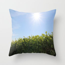 Summer Photos, Nature Photography, fine art gifts, Landscape Photo, sunshine photo Throw Pillow
