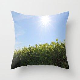 Summer Photos, Nature Photography, fine art gifts, Landscape Photo, sunshine photo Throw Pillow