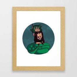 a naga love Framed Art Print