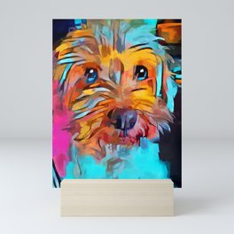 Schnoodle 4 Mini Art Print